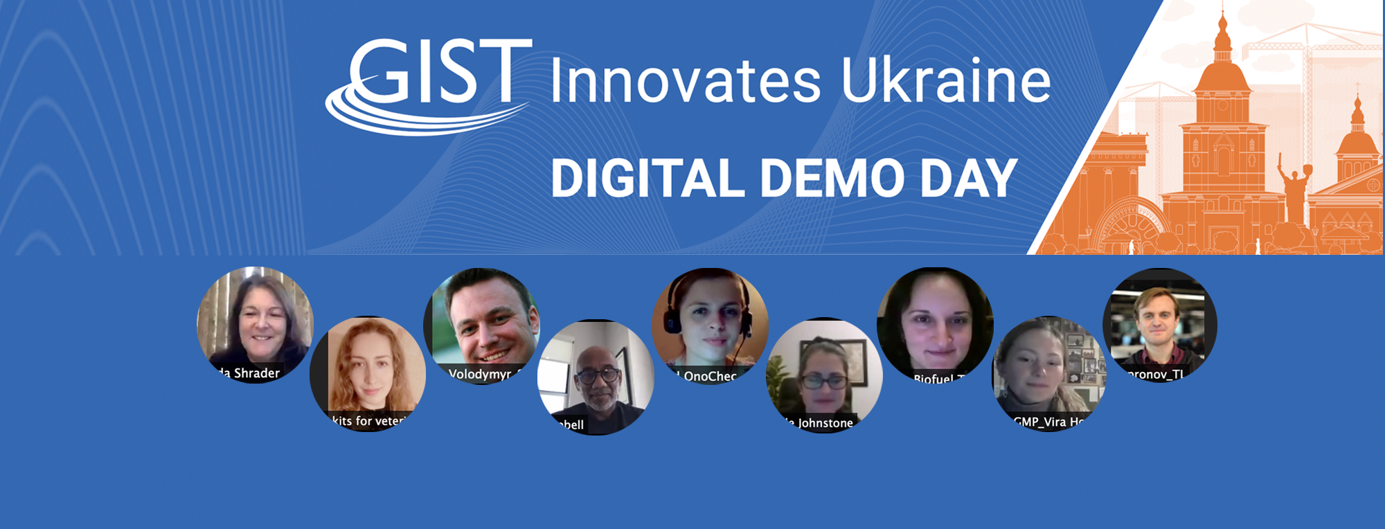 Science & Technology Innovators Shine at GIST Innovates Ukraine Demo Day