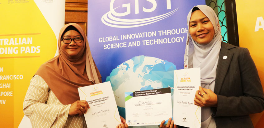 Malaysian Startup Team Wins First Place at GIST APEC Startup Training in Australia