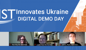 GIST Innovates Ukraine Demo Day banner