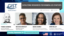 Catalyzing Resources for Women Led Startups banner